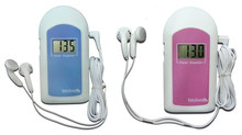 Hot Sales COTEC BABYSOUND B LCD Display Prenatal Fetal Doppler Baby Heart Beat Monitor Free