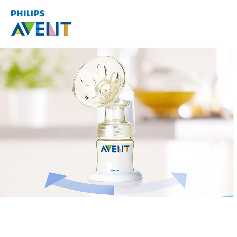 AVENT Breast Pump PP PES Manual Breast Pump Feeding Breast Feeding Baby Nipple Suction Original Breast Pumps Milk Bottle Sucking manual large suction breast massage sucking milk sucker massager puller milker breast pump 150ml milk bottle