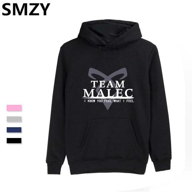 5795cf306 SMZY Shadowhunters Hoodies Men Winter Fashion Streetwear Hoodies Sweatshirt  Tops Pullovers Funny Print Casual Cotton Clothes