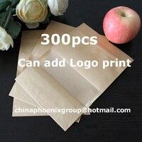 Крафт бумага Ziplock сумка еды окно мешок Количество 300 шт. принимаем Индивидуальные печати детали свяжитесь с продавцом