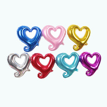 32 inch Aluminium Foil Heart Balloon Holiday Birthday Party Engagement Wedding Decoration Marriage Love confession Supplies