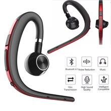 GiGiboom беспроводной Bluetooth гарнитура бизнес Hands free шум шумоподавления наушники с микрофоном стерео для телефона drive