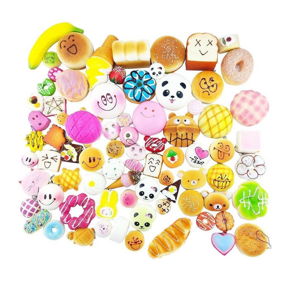 Mobile Phone Straps Cellphones & Telecommunications Dashing Cake Sweet Charm Scented Kid Toy Gift Phone Straps Wholesale Jumbo Squishy Rainbow Ice Cream Super Slow Rising Kawaii Bread Bun