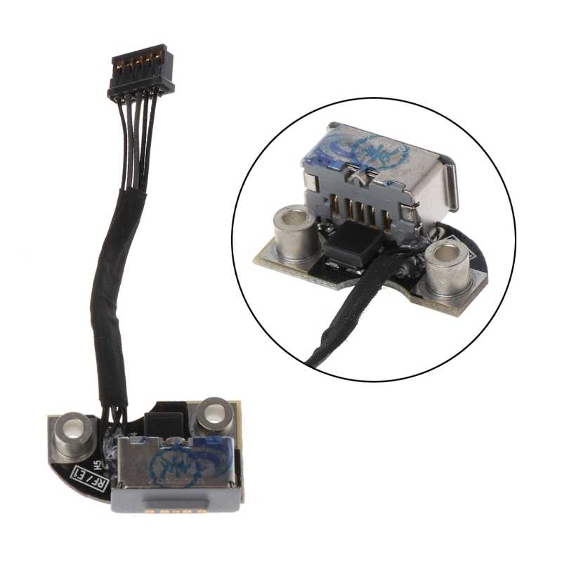 สำหรับ Macbook Pro A1297 A1286 A1278 DC Power Jack Board 820-2565-A 2009 2010 2011