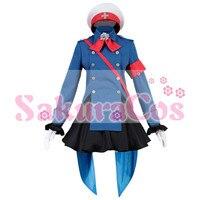 New Cosplay Costume Fate/Grand Order FGO Si ma yi Halloween cosplay costume blue uniform full sets A