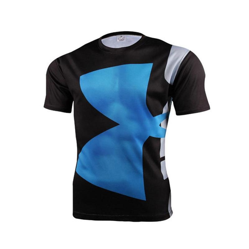 Yüksek Kaliteli Polyester 3D Baskılı T-Shirt Erkekler - Erkek Giyim - Fotoğraf 4