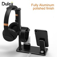DULCII Multi Functional Charging Stand Holder Headphone Holder Phone Holders For Apple Watch AirPods IPhone IPad