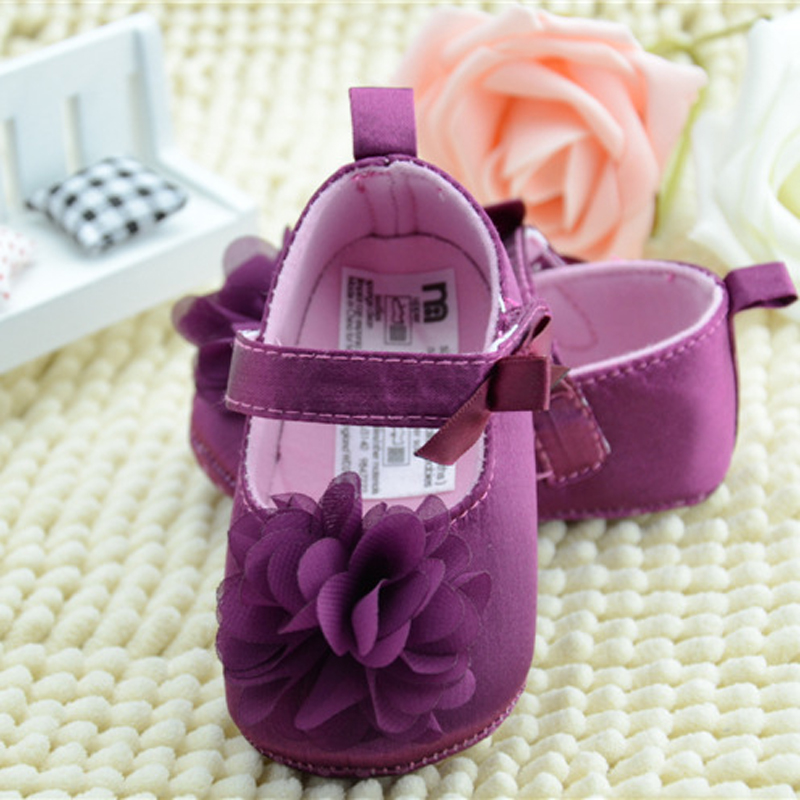 Baby Clothes Dress Sneakers Newborn Baby Girls First Walkers Crib Party Shoes Baby Toddlers Baby Flower Birthday Shoes Mother & Kids Baby Shoes