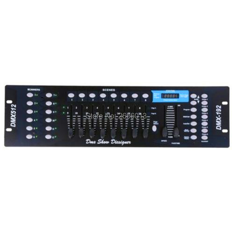 DMX 192 controller for stage lighting Led par LED beam lights dmx console DJ controller equipment
