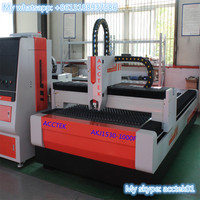 High Precision AKJ1530F Carbon Steel Fiber Laser Cutting Machine Stainless Steel Furniture Making Fiber Laser Cutting