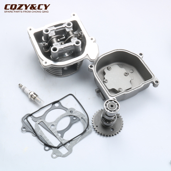 39mm NON-EGR Cylinder Head & cam & valve rocker & cylinder head Assembly for GY6 50cc 139QMB 4-stroke scooter karting ATV