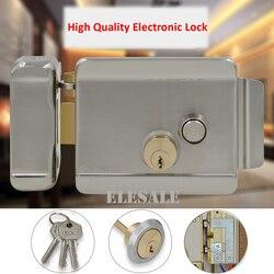 Brand New Elektrische Controle Lock Elektronische Magnetische Deurslot Voor 12V DC Toegangscontrole Systeem Video Intercom Deurtelefoon systeem