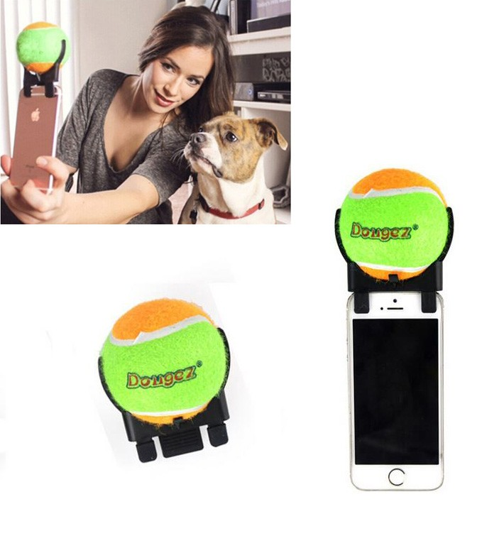 New Dog Pet Toy Dogs tennis ball Self-timer Funny Your Puppy And Children Good Gifts