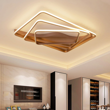 цены NEO Gleam Rectangle Dimmable Modern led Ceiling Lights For Living Room Bedroom Study Room Square Remote Controller Ceiling Lamp