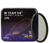 WTIANYA 40mm XS pro1 Slim MC CPL Circular Polarizing optical glass Lens Filter Protector TIANYA 40mm for canon nikon sony camera