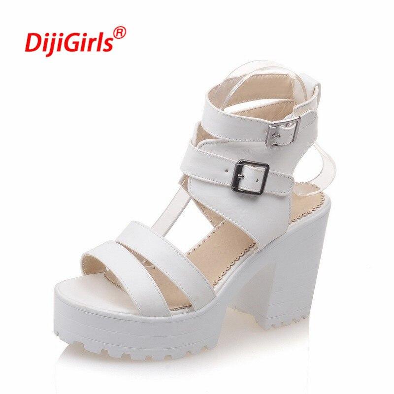 Altos Tacones Pictures Zapatos J543arl Plataforma Más Color Sandalias PuTiZkXO