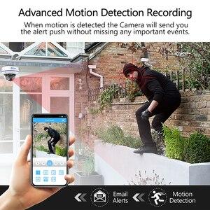 Image 5 - Techage H.265 An Ninh POE IP 2MP Vandalproof Trong Nhà Dome Camera quan sát Micro P2P Giám Sát Video ONVIF PoE 48V