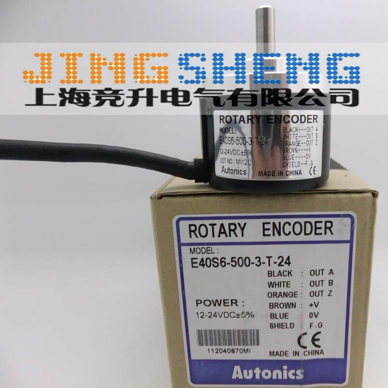 E40S6-500-3-T-24 100% Nuovo e Originale Encoder RotativoE40S6-500-3-T-24 100% Nuovo e Originale Encoder Rotativo