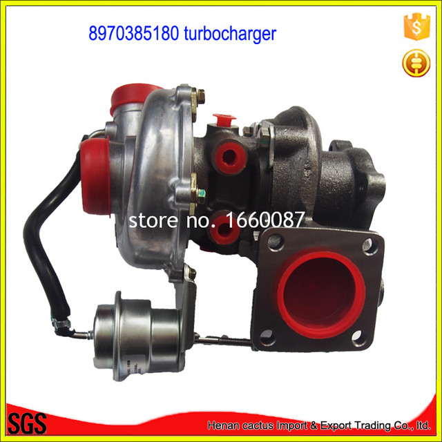 Electric Supercharger Rhb5 Turbocharger 8970385180 Turbo Charger Ffor Iisuzu 4jg2 Tc