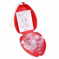 60Pcs/Lot CPR Pocket Resuscitation Face Mask One Way Valve Oronasal Resuscitator Mask For Emergency Training/Teaching Kit