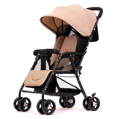Stroller can sit can lie light folding bb pram suspension umbrella car baby baby carriage
