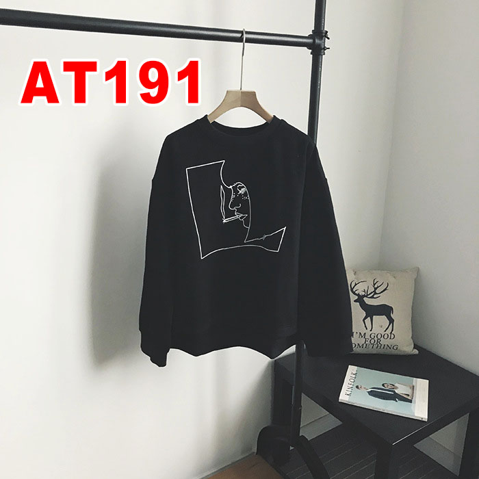Fashion casual high quality women's hoodies AT19