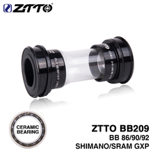 ZTTO Nueva MTB Road Bike Ceramic Press Fit Brackets inferiores BB209 BB92 BB90 BB86 para Shimano 24mm Crankkset SRAM GXP 22mm Chainset