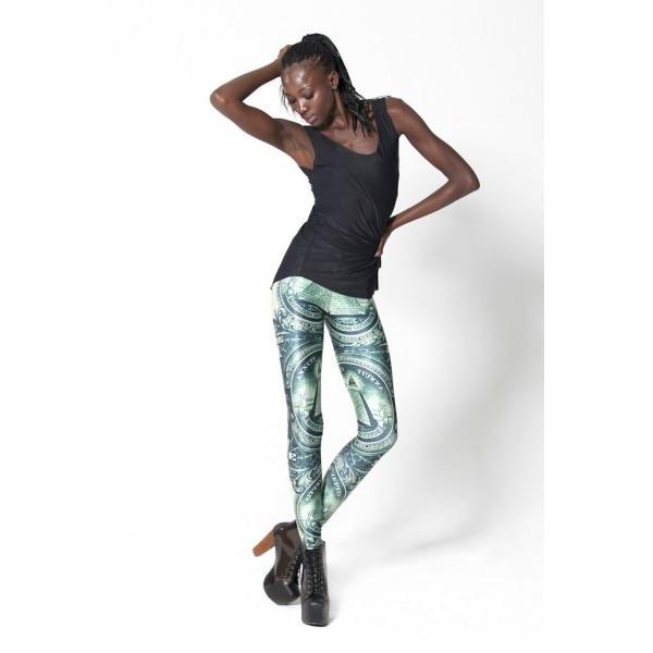 Femmes Crayon Imprime Legging à la mode Noir Lait leggings Livraison  Gratuite Dollar lait leggings 3S33092 New Digital print Pantalons bab935413e6a