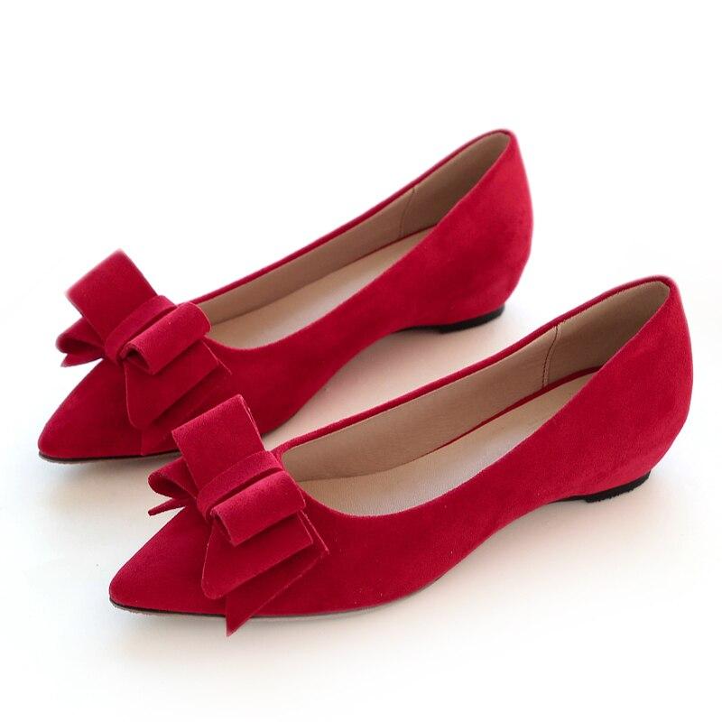 Augmentation rouge Noir Peu Bas Nouveau Simples Profonde Chaussures Rouge Plat kaki Arc 2018 Pointu Bouche Otw7cfwqd