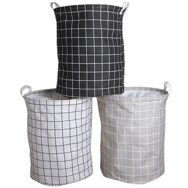 MỚI Lồng Giặt Có Thể Gấp Gọn Túi Vải Người Tổ Chức Túi Giặt Quần Áo Dã Ngoại Giỏ Đựng Đồ Lớn Giỏ Túi In Hình Người Tổ Chức Giặt Cản Trở