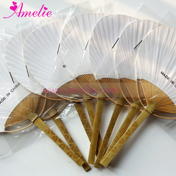 Online buy wholesale fan paddles from china fan paddles wholesalers aliexpresscom for Wedding paddle fans