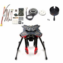 DIY GPS Drone RC Quadcopter HMF U580 Totem Series PIX Flight Control 700KV Motor 30A ESC Radiolink AT10 TX&RX No Battery