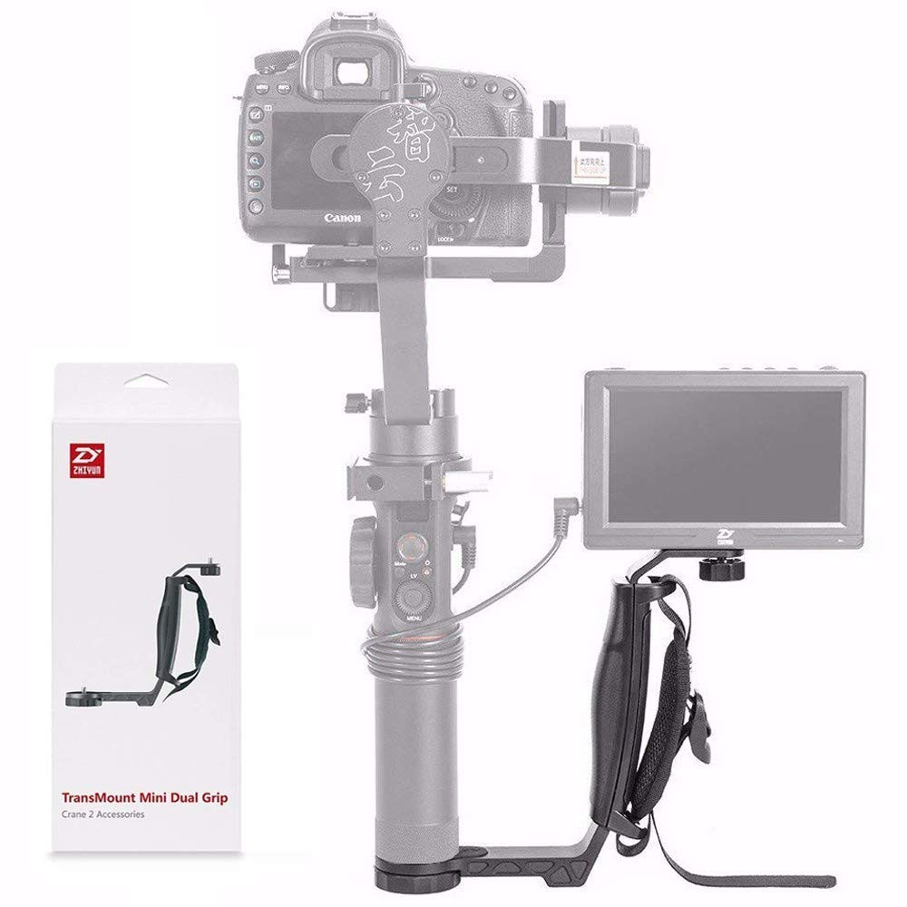Zhiyun Mini Dual Grip Transmount Single Handle Grip L