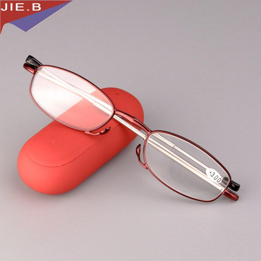 2019 Katlanır Anti Yorgunluk Okuma Kadın Gözlük Yüksek Dereceli - Elbise aksesuarları - Fotoğraf 4