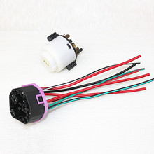 OEM Engine Lgnition Switch + Wiring Plug Pigtail Fit VW Polo Beetle Bora Jetta Golf Passat B5 Skoda Octavia Superb Seat Leon