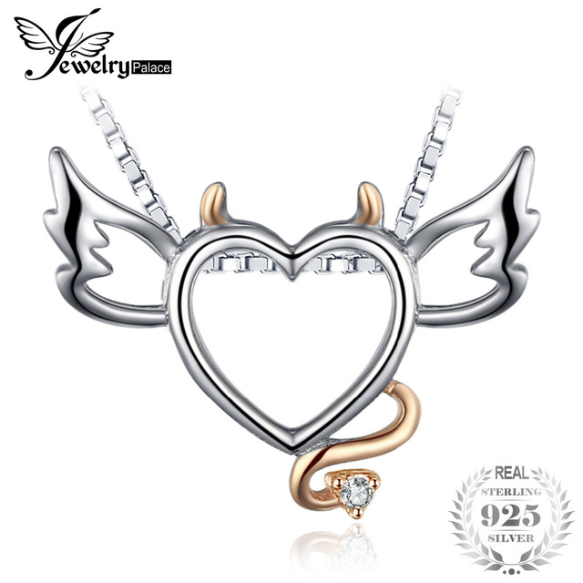 Jewelrypalace lovely wing angel heart pendant fashion gift 925 jewelrypalace lovely wing angel heart pendant fashion gift 925 sterling silver jewelry cute present for girl mozeypictures Choice Image