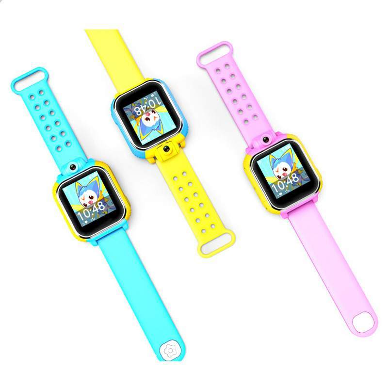 child smart watch Q730 Touch button for 3 12 years old 3G GPS WIFI answer the