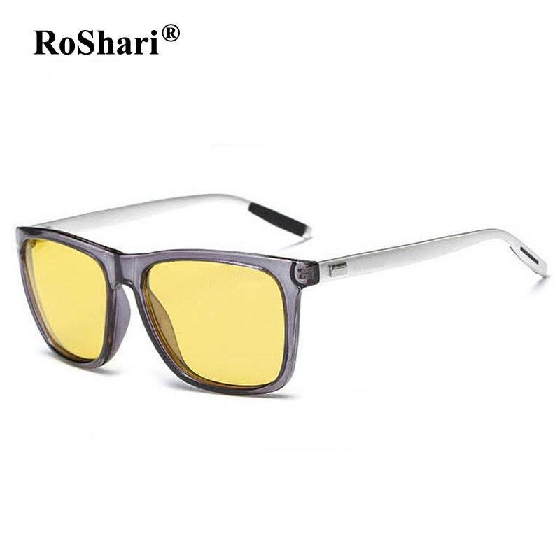 RoShari Yellow Lens Aviator sunglasses s