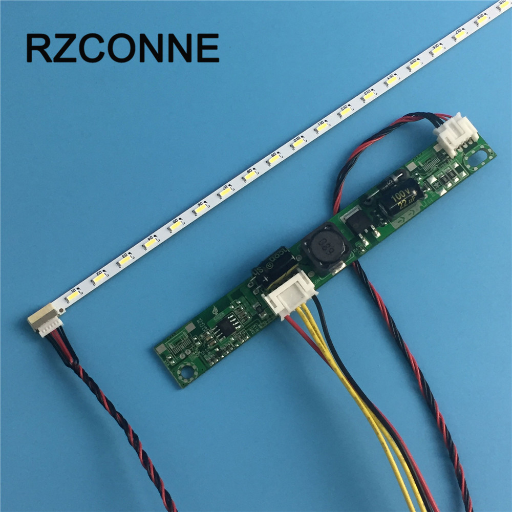 533mm LED Backlight Lamp Kit Aluminum Plate 44 Leds 44V + Driver Board For 23.6 Inch/24 Inch LCD Monitor High Light New