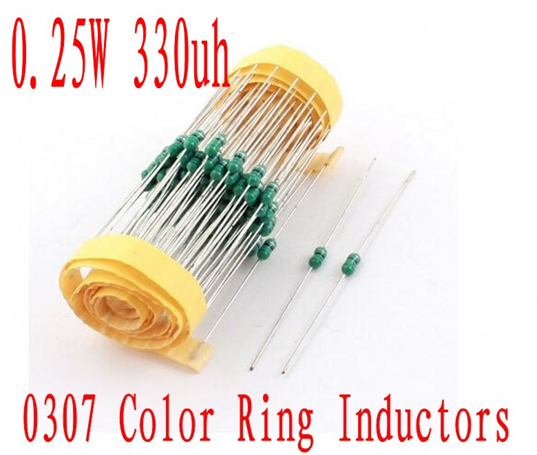 30 x 1uH Inductance 1//2W 0.5W Power 10/% Tolerance Color Ring Inductors