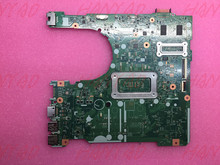 цена на For DELL 3568 Laptop Motherboard With SR2ZV i7 cpu CN-0GV5TG 0GV5TG Processor Full Tested Free Shipping