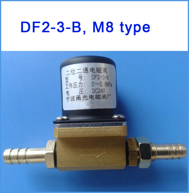 Image 3 - Solenoid Valve DF2 3 B DC24V,AC36V, AC220V Two position two way for co2 gas ,argon gas welding machine-in Pneumatic Parts from Home Improvement
