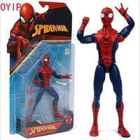 18cm Spider Man PVC Toys joints can move Action Figure Model With Box
