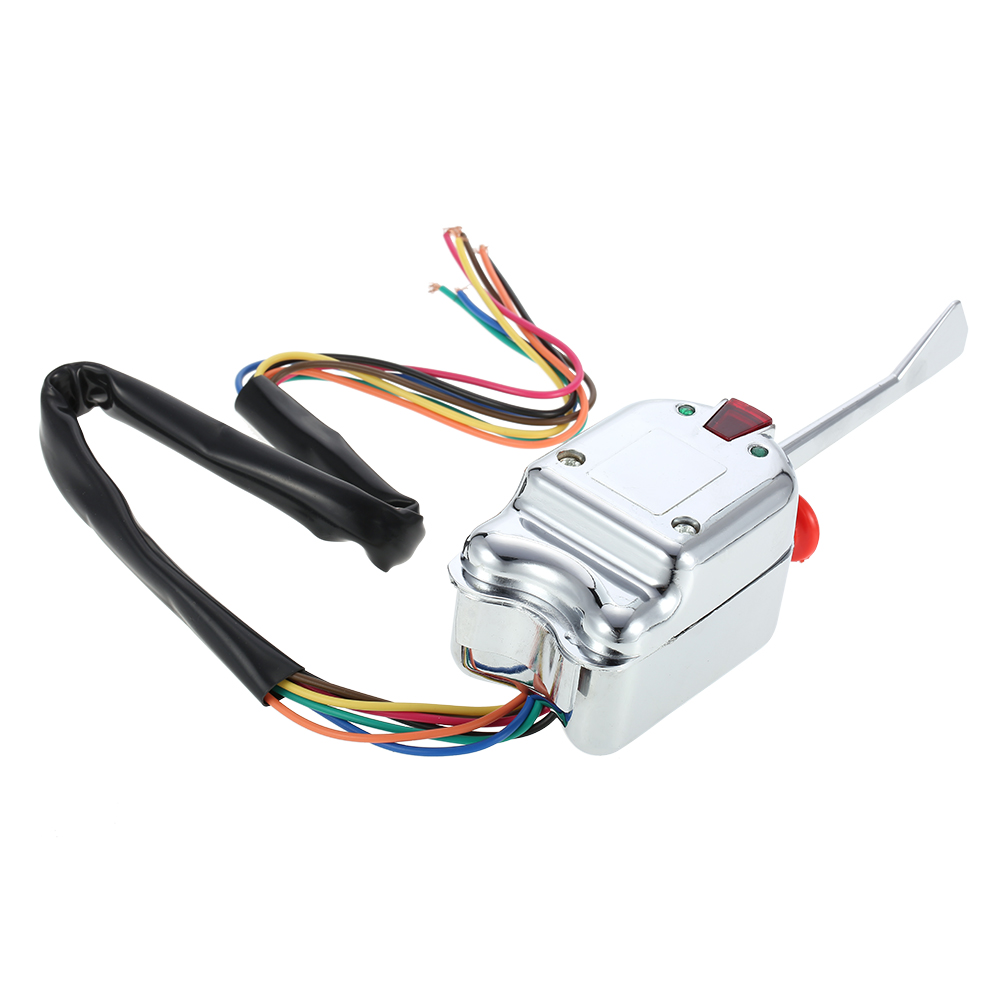 12V Universal Street Hot Rod Turn Signal Switch for FORD for BUICK for GM