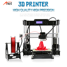 Anet A8 Most Popular Open Source 3d Drucker Offline/ Online Printing Heating Fast Impressora 3d Support 1.75mm Various Filament