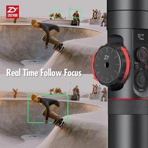 Image 2 - رافعة ZHIYUN رسمية 2 3 محاور مثبت أفقي لجميع طرازات كاميرات DSLR بدون مرآة كانون 5D2/3/4 مع تركيز متابع مؤازر