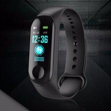 M3 Smart Band Watch Bracelet Fitness Tracker Pedometer Blood Pressure Heart Rate Monitor Waterproof Wristband