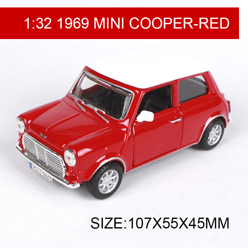 Mini Cooper Models >> Us 21 49 10 Off Bburago 1 32 Diecast Model Car 1969 Mini Cooper Classic Cars Vehicle Play Collectible Models Sport Cars Toys For Gift Collection In