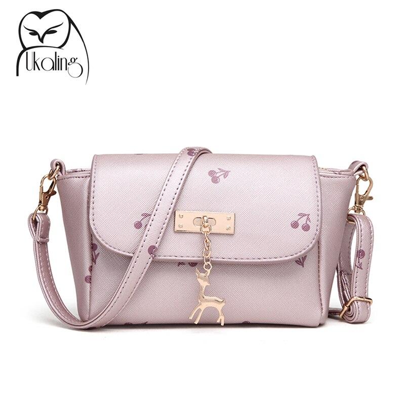 2017 Summer Women Messenger Bag PU Leather Women's Shoulder Bag Ladies Mini Cross Body Bags For Girls Clutch Purse Handbag