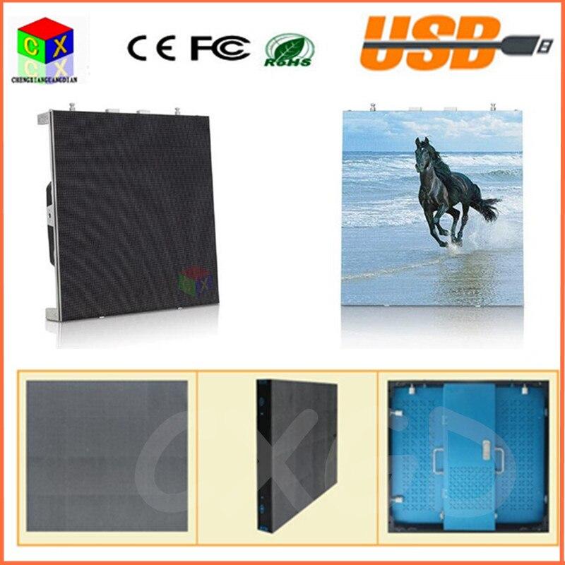 Матовый алюминиевый корпус 512X512 мм наружный полноцветный P8 дисплей 1/4 сканирования светодиодная лампа светодиодная вывеска/P8 светодиодный электронный экран
